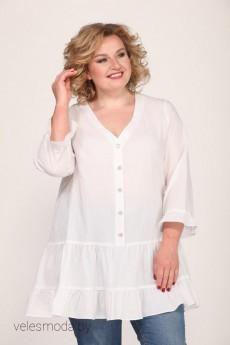 Блузка 0122А белый Djerza