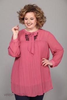 Блузка 224 розово-пудровый Djerza