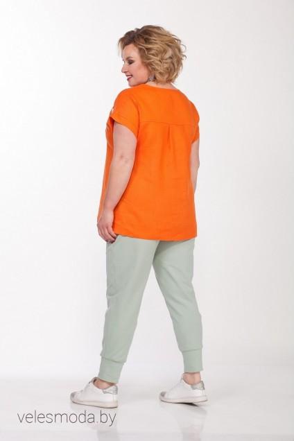 Блузка 024 оранжевый Djerza