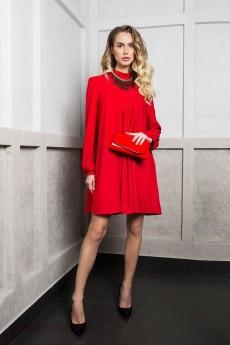Платье 1742 красный ELLETTO LIFE