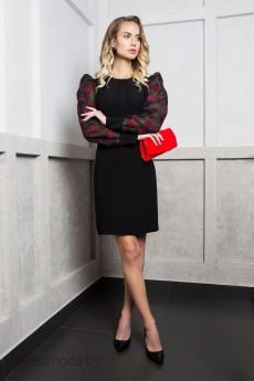 Платье 1750 черный ELLETTO LIFE