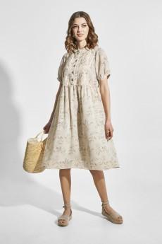 Платье 1832 бежевый Elletto Life