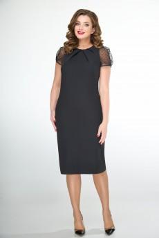 Платье 107 черный ELVIRA