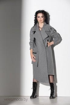 Пальто 555 темно-серый ElPaiz