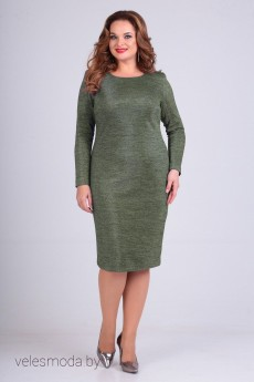 Платье 01-640 олива Elga
