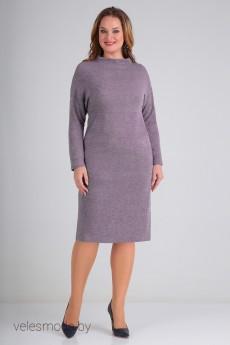 Платье 01-680 сирень Elga
