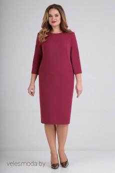 Платье 01-683 малина Elga