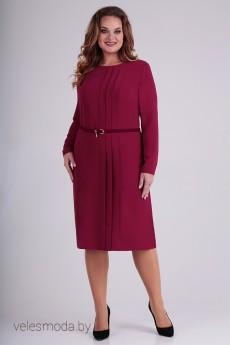 Платье 01-692 малина Elga