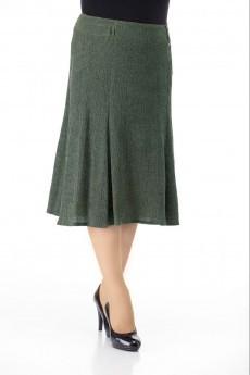 Юбка 3224 темно-зеленый Elite Moda