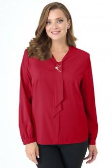 Блузка 5215 красный Elite Moda