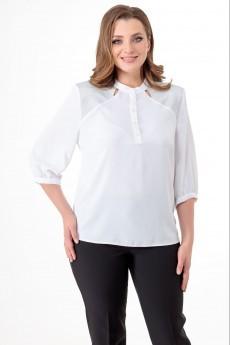 Блузка 5217 белый Elite Moda