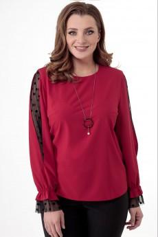 Блузка 5231 красный Elite Moda