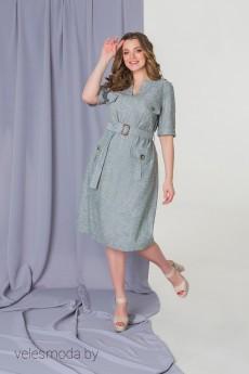 Платье 1779 зеленый Elletto