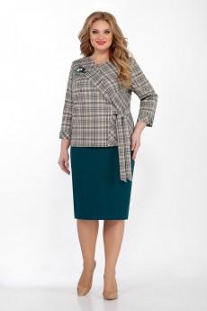 Костюм с юбкой 2059 Emilia Style