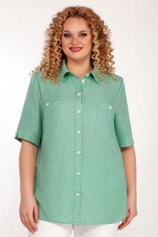 Блузка 2062 светло-зеленый Emilia Style