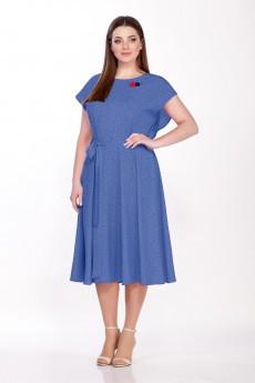 Платье 544 деним Emilia Style