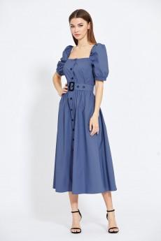 Платье 2013 серо-синий EOLA