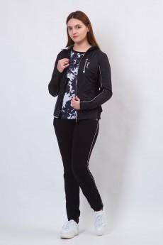 Спортивный костюм 11461-1 черный FORMAT