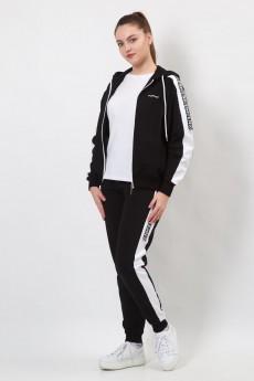 Спортивный костюм 11483 черный FORMAT