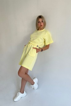 Костюм с шортами ФС-20 желтый Faldas