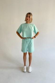 Костюм с шортами ФС-20 мята Faldas