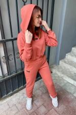 Спортивный костюм 015ФС кирпичный Faldas