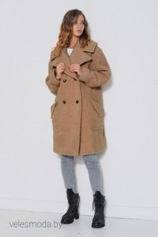 Пальто 3777 кэмел FantaziaMod