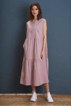 Платье 3935 лиловый FantaziaMod