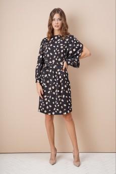 Платье 4042 черный FantaziaMod