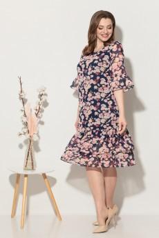 Платье 657 розы Fortuna. Шан-Жан