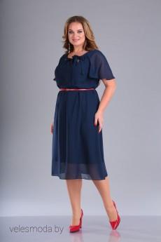Платье 095 синий FOXY FOX