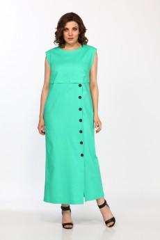 Платье 1928 зеленый FOXY FOX