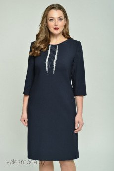 Платье 600 темно-синий GALEREJA