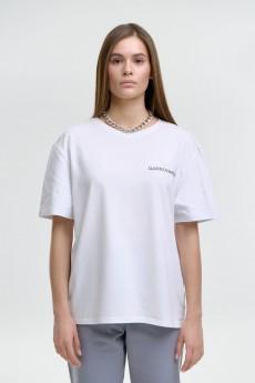 Футболка  140003 белый GARSONNIER