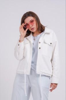 Куртка 7119 белый Gratto