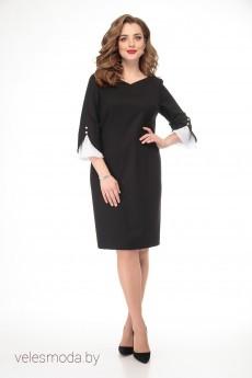 Платье 2129 черный Gold Style