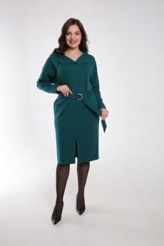 Платье 2471 изумрудно-зеленый Gold Style