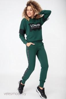 Спортивный костюм 3073 зеленый HIT