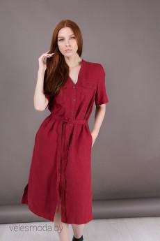 Платье 19211 ягодный ID fashion