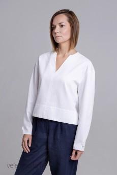 Блузка 20223 белый ID fashion