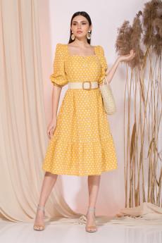 Платье 030 желтый INPOINT