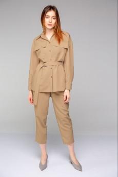 Рубашка 5010 песочный Ivera collection