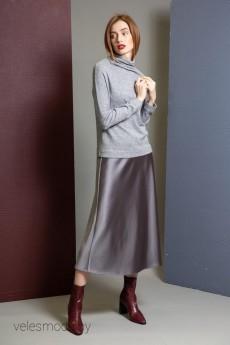 Юбка 914 серый IVERA collection