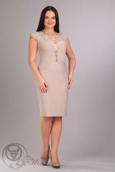 Платье 701 беж Iva