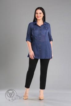 Рубашка 806 синий Iva
