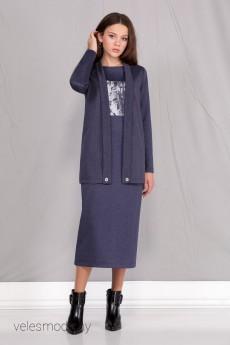 Костюм с платьем 602 Ивелта Плюс