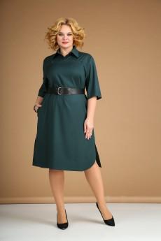 Платье 172 темно-зеленый Juliet
