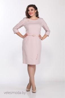 Платье 048-1 розовый Juliet