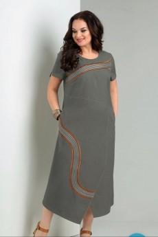 *Платье 1956 серый Jurimex