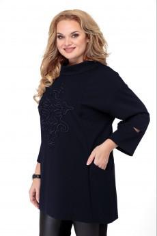Блузка 2401 темно-синий Jurimex
